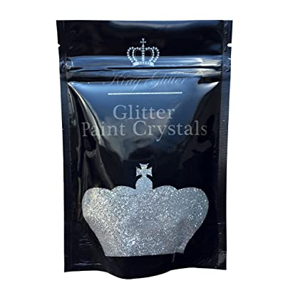 c3ebb910a8e07 King 110g Glitter Paint Crystals No1 Glitter-Easy Application Glitter Paint  Crystal Additive For Emulsion