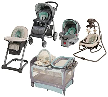 Amazon Com Graco Winslet Collection Travel System Pack