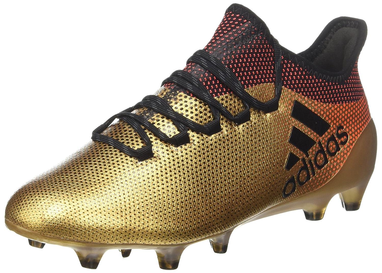 Or (Tagome Cnoir Solrouge) 47 1 3 EU adidas X 17.1 FG, Chaussures de Football Homme