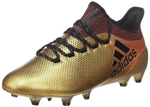 new style 04f23 b6a76 adidas X 17.1 Fg, Scarpe da Calcio Uomo, Oro (Tagome Cblack