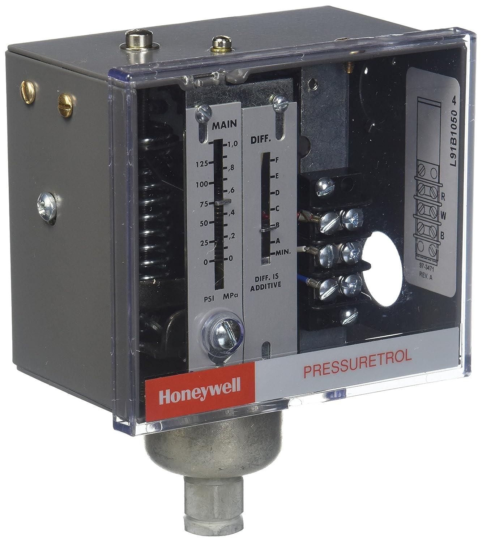 Honeywell L91B1050/U Modulating Pressuretrol, Single Potentiometer, 32 Degree - 150 Degree F Temperature Range, 5-150 psi Pressure Range