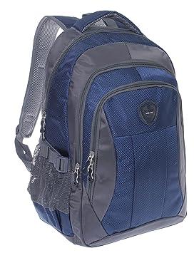 Mochila Mochila Escolar, bolsa de deporte, mochila, City Mochila, trabajo, deportes, escuela, Uni, tiempo libre Varios colores azul: Amazon.es: Equipaje