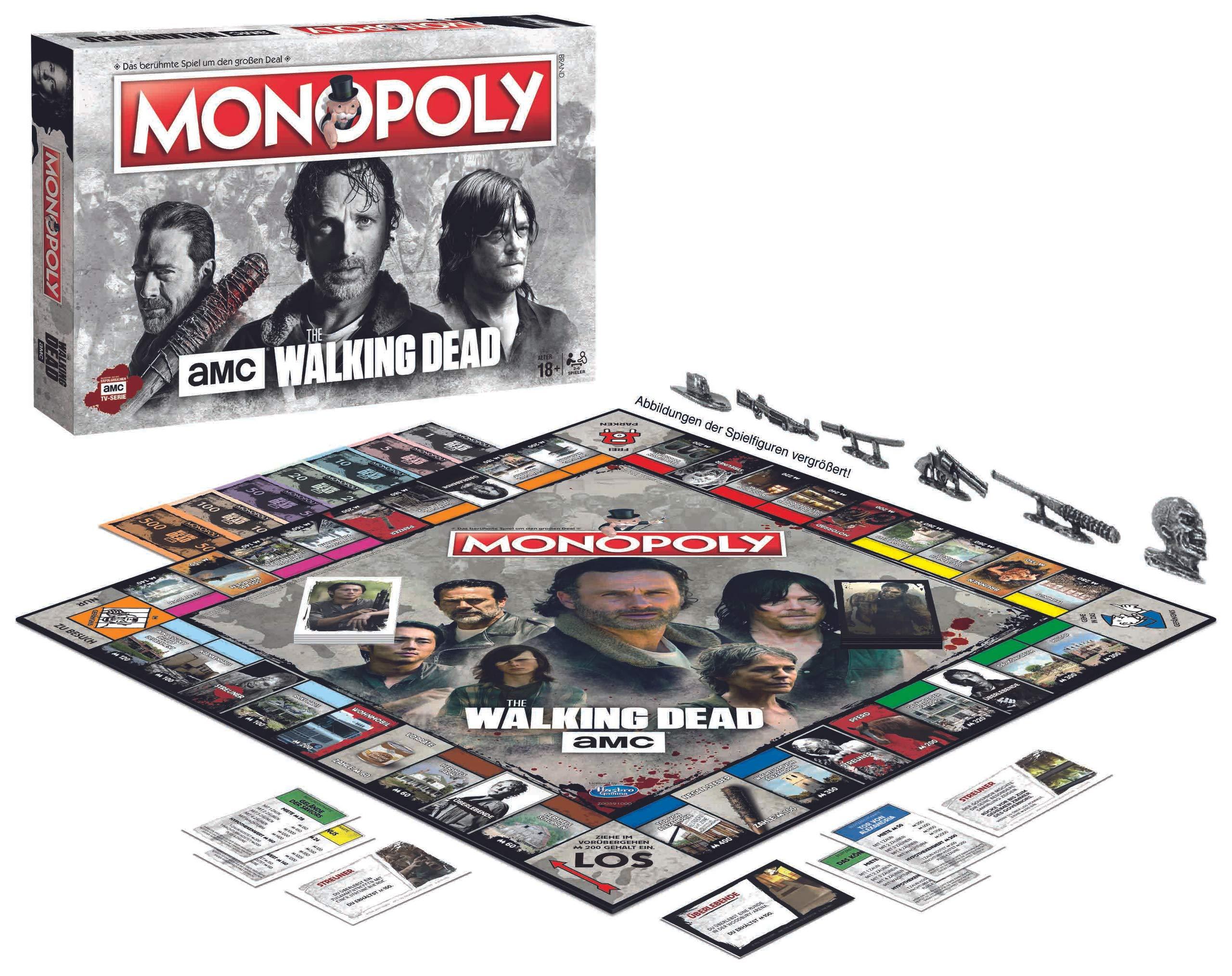 Monopoly The Walking Dead AMC: Amazon.es: Winning, Moves: Libros en idiomas extranjeros