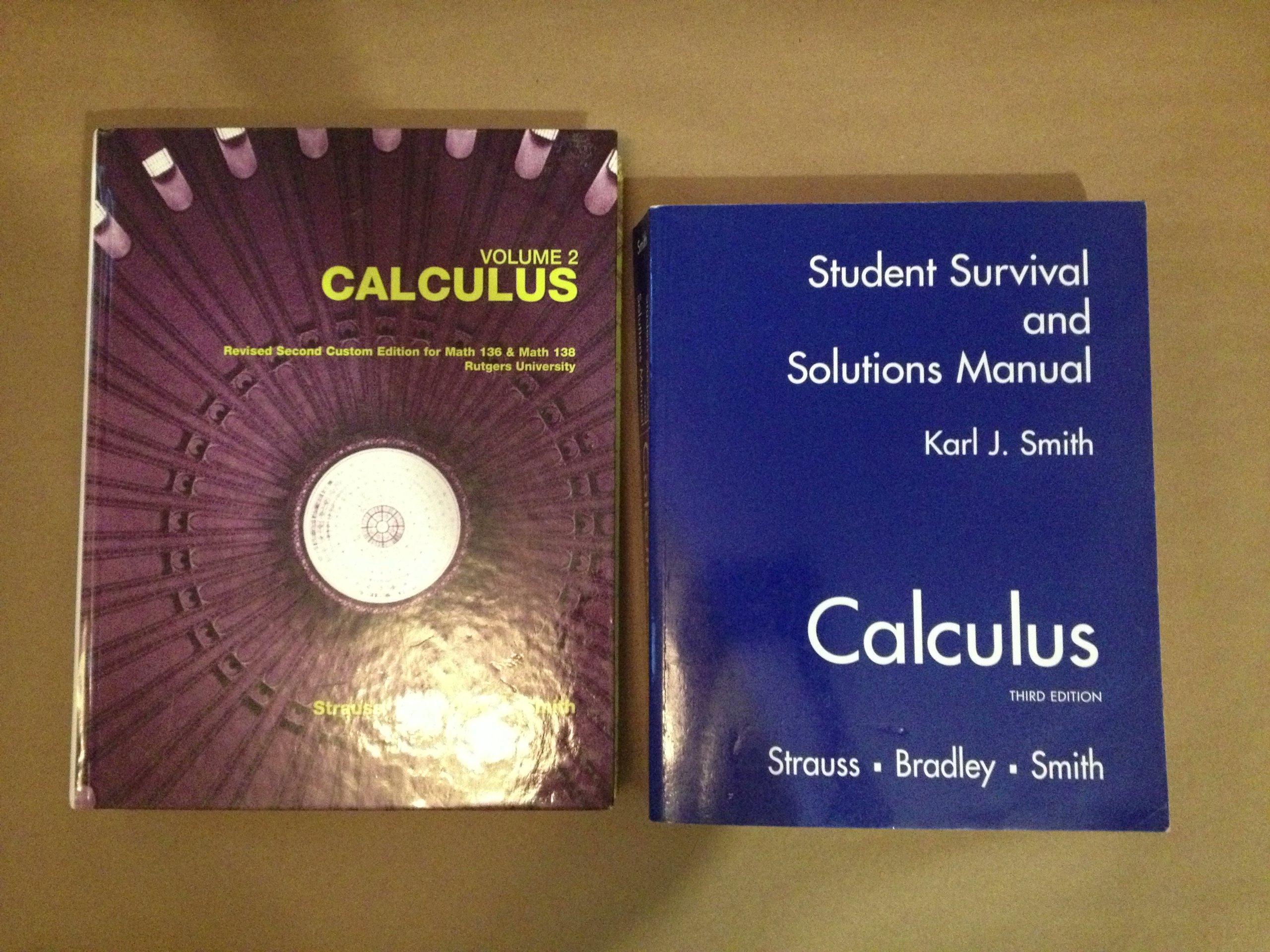 volume 2 calculus revised second custom edition for match 136 math rh amazon com
