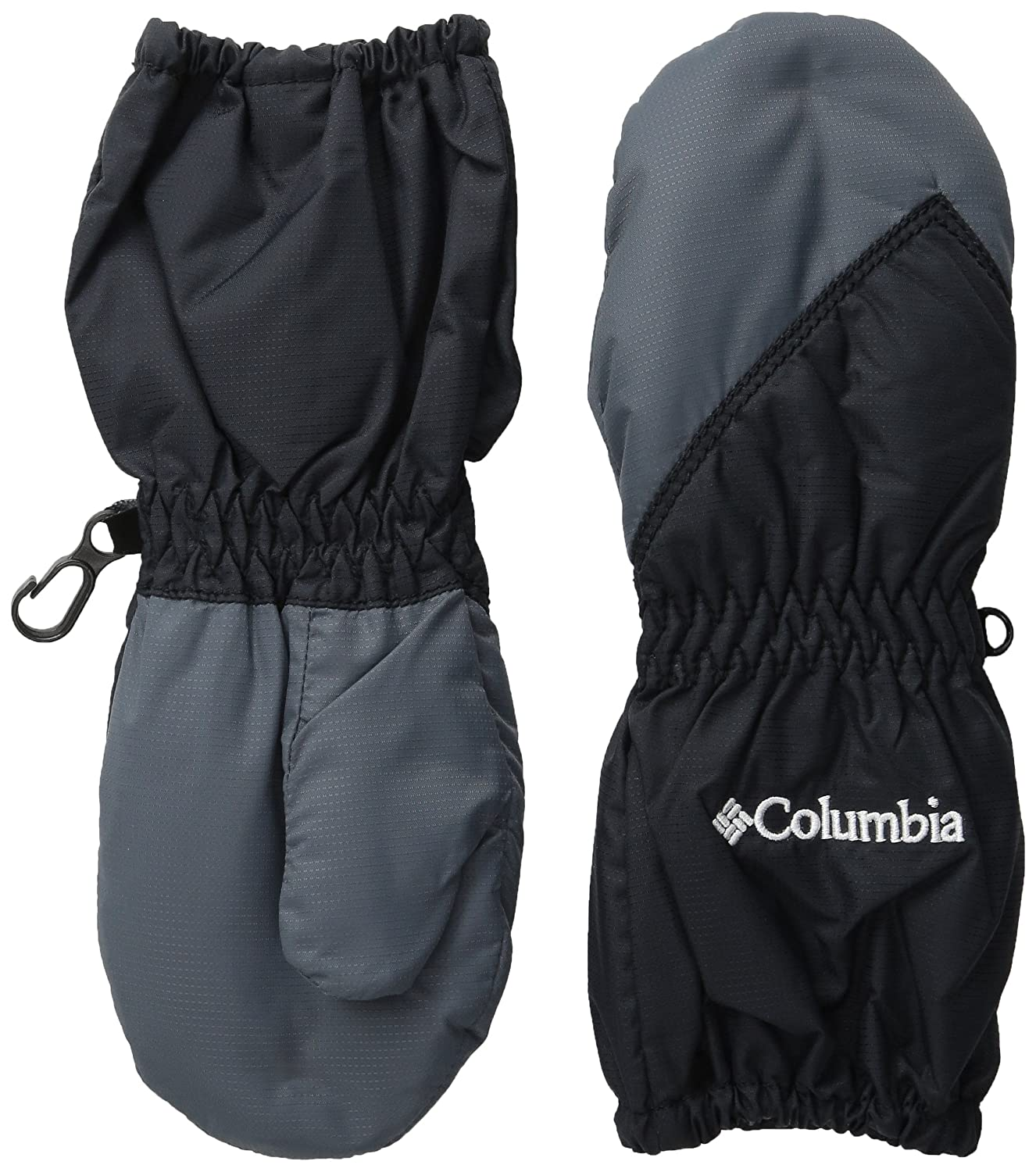 Columbia Unisex Baby Toddler Chippewa Long Mitten black Graphite One Size Columbia Sportswear