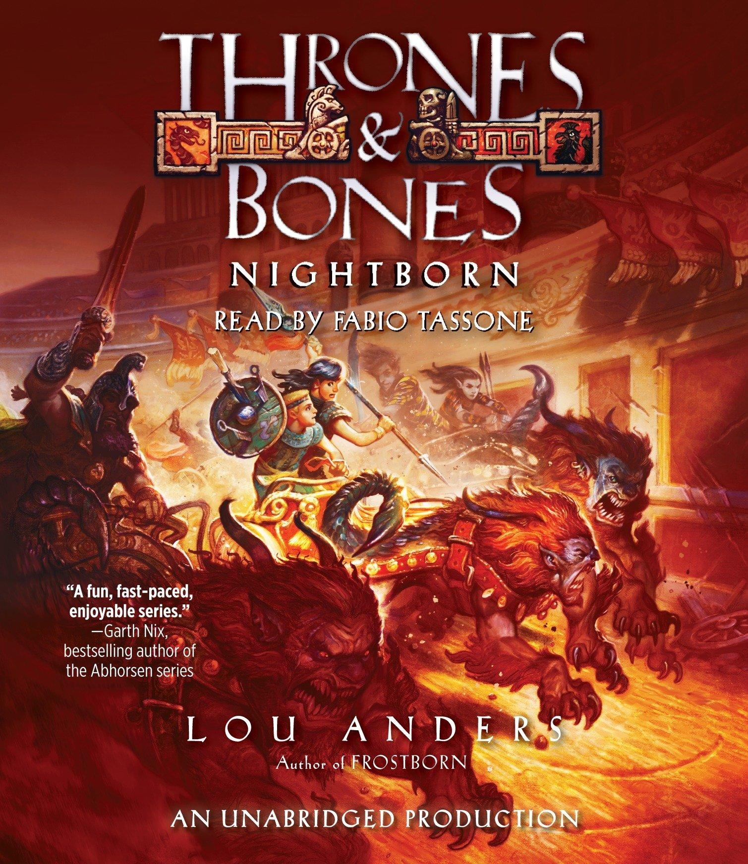 Nightborn (Thrones and Bones) by Listening Library (Audio)