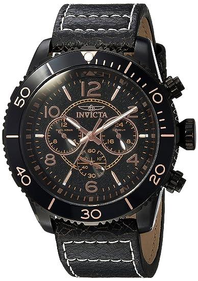 Invicta 24554 - Reloj de pulsera hombre, color Marrón