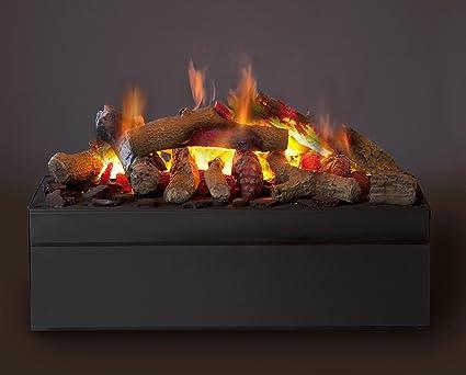 Faber Cassette M Interior Log Insert Fireplace Negro - Chimenea (570 mm, 260 mm