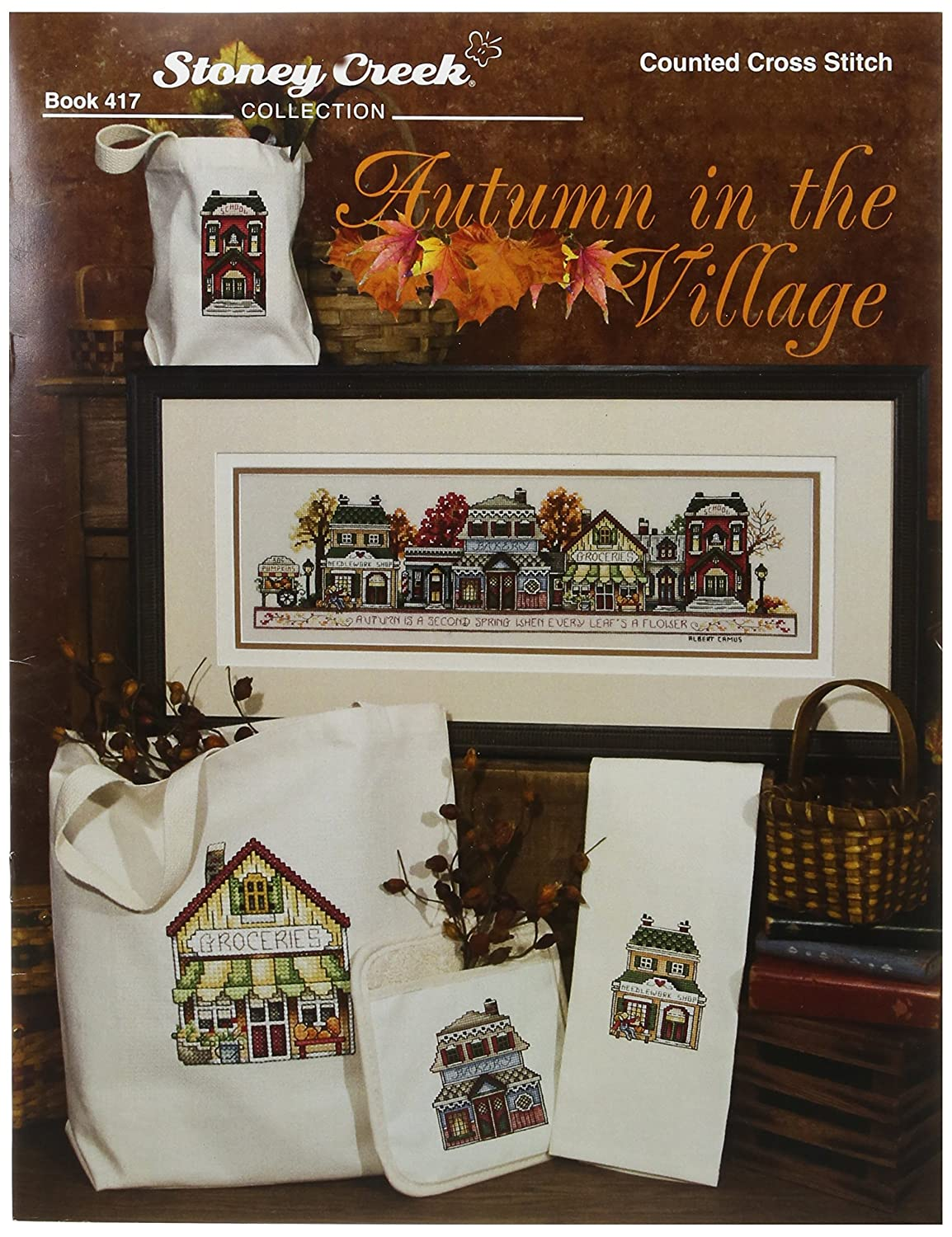 amazon com stoney creek autumn in the village book arts crafts
