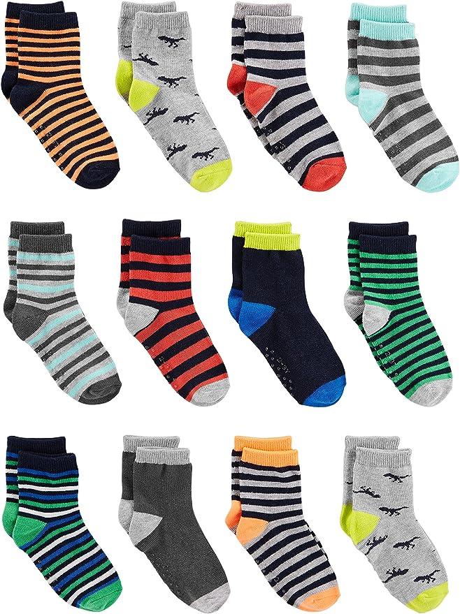 Simple Joys by Carters Baby and Toddler Lot de 12 paires de chaussettes pour b/éb/é