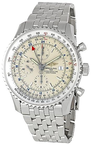 Breitling A2432212/G571 Navitimer World - Reloj cronógrafo para Hombre: Breitling: Amazon.es: Relojes