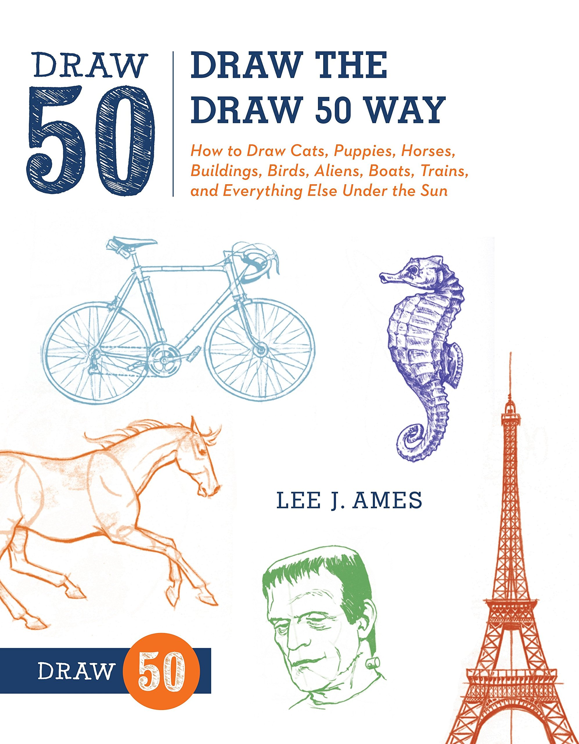 draw the draw 50 way how to draw cats puppies horses buildings