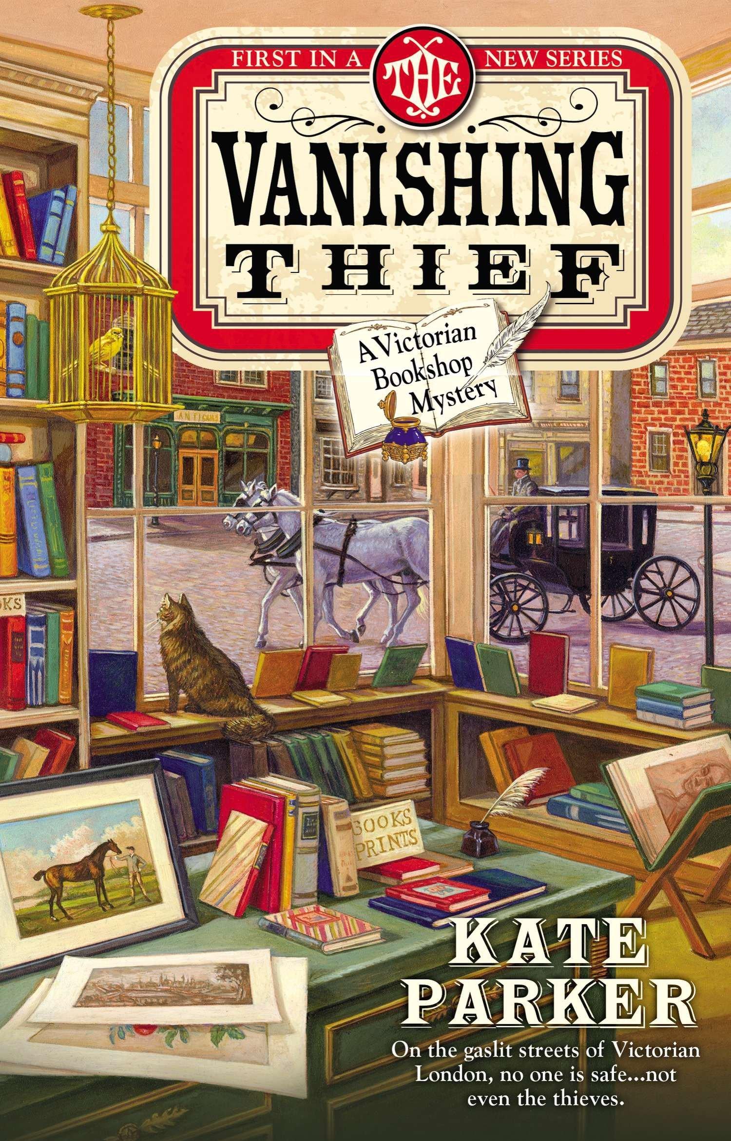 the vanishing thief a victorian bookshop mystery book 1