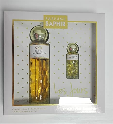 ESTUCHE COOL DE SAPHIR EDP 200ML + 25ML