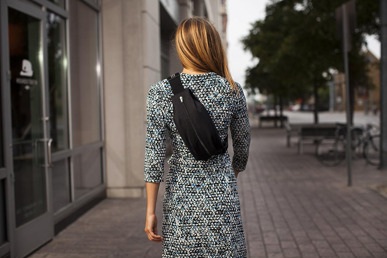 Spibelt Messenger Bag Black by SPIbelt