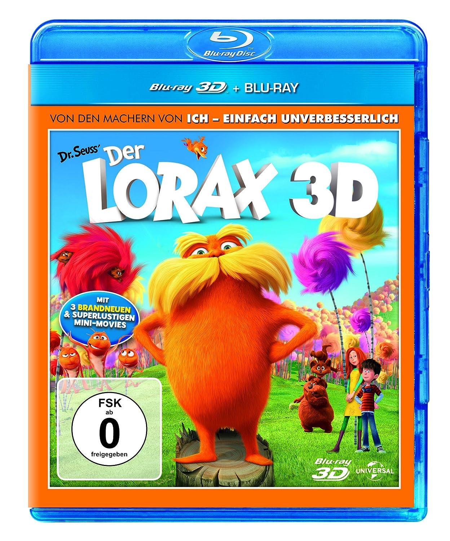 Der Lorax (+ Blu-ray) [Alemania] [Blu-ray]: Amazon.es: DeVito, Danny, White, Betty, Efron, Zac, Helms, Ed, Swift, Taylor, Renaud, Chris, Balda, Kyle, DeVito, Danny, White, Betty: Cine y Series TV