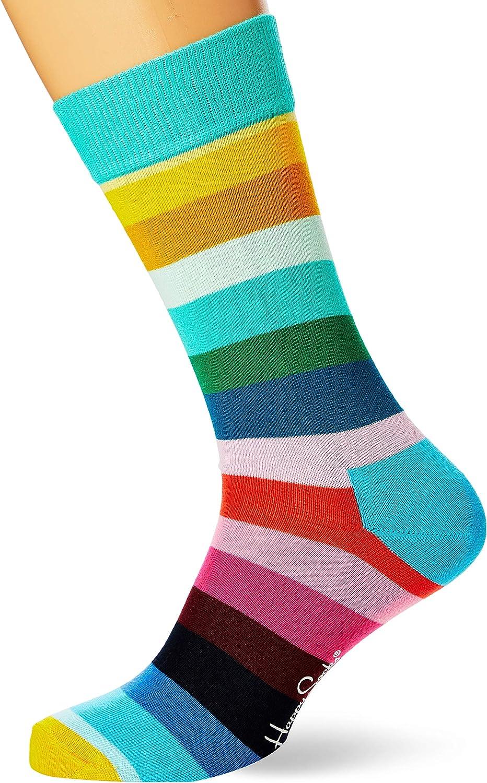 Chaussettes Mixte Happy Socks Stripe Sock 100 DEN