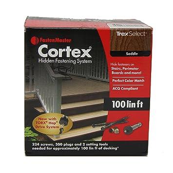 Trex ENHANCE Saddle FastenMaster Cortex Concealed Deck Fasteners 100 Linear