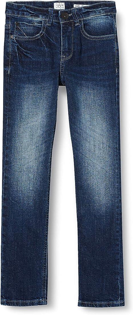 Ikks Junior Jean Denim Skinny Noir Jeans Azul Blue Vintage 87 16 Anos Talla Del Fabricante 26 Para Ninos Amazon Es Ropa Y Accesorios