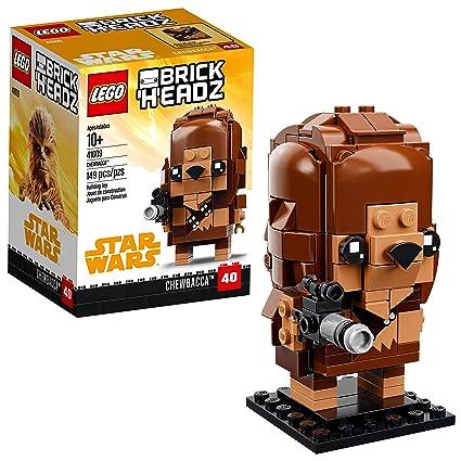 Amazoncom Lego Brickheadz Chewbacca 41609 Building Kit 149 Piece
