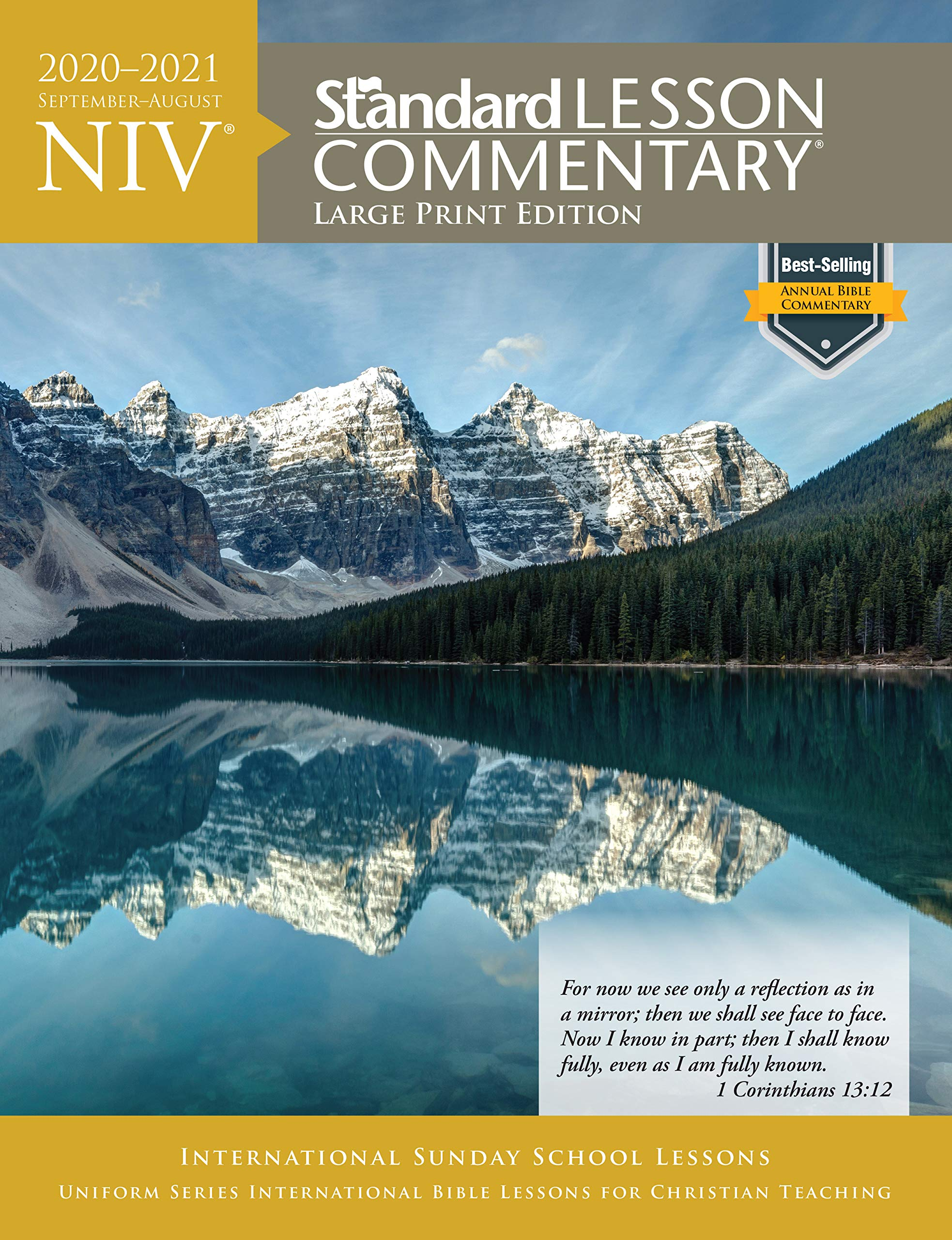 NIV® Standard Lesson Commentary® Large Print Edition 2020-2021