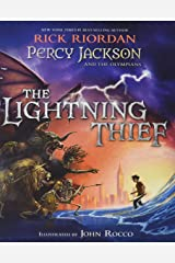 Percy Jackson and the Olympians The Lightning Thief Illustrated Edition (Percy Jackson & the Olympians) Hardcover