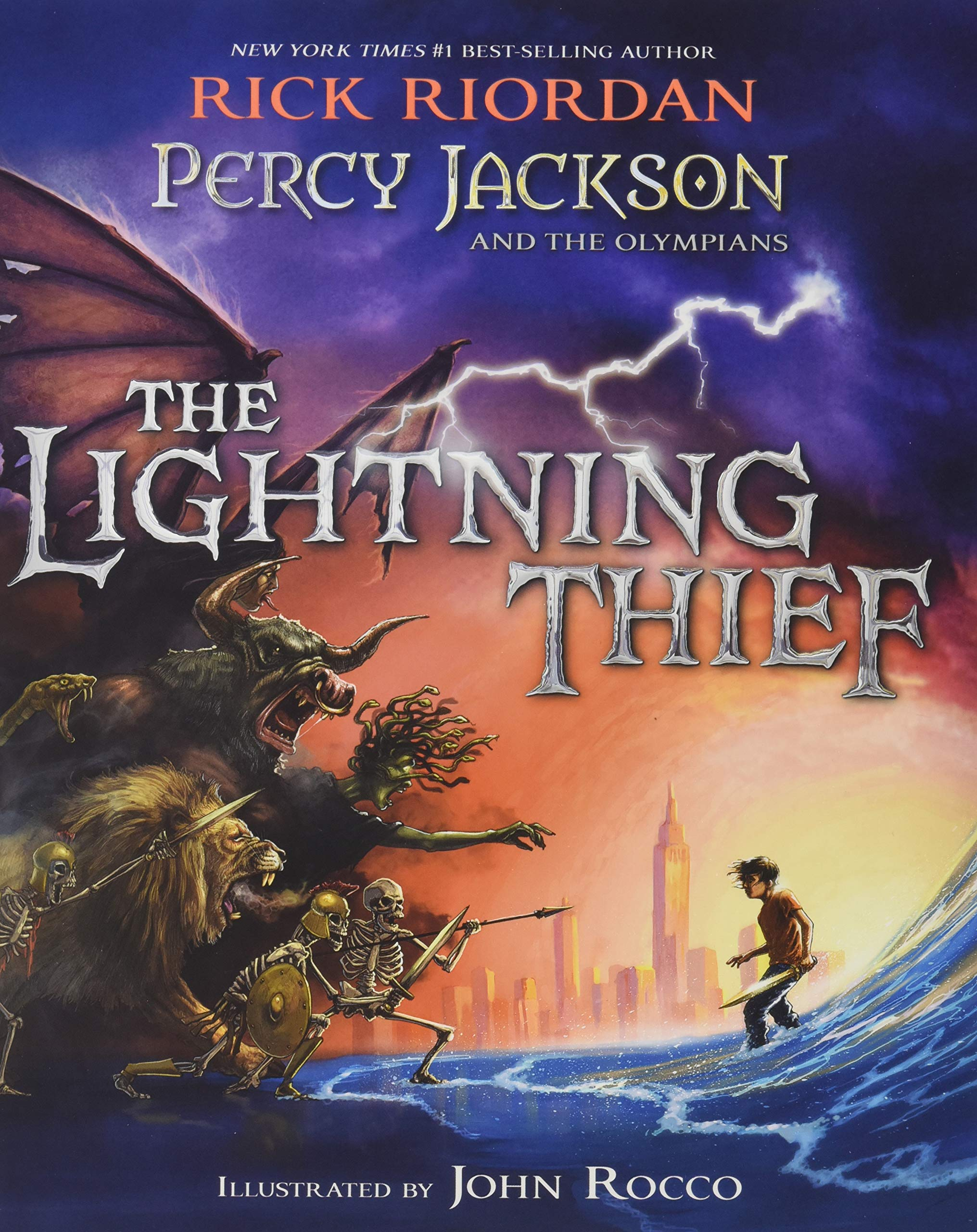 Amazon.fr - Percy Jackson and the Olympians The Lightning Thief ...