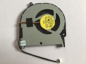 hk-Part Fan Replacement for Toshiba Satellite Radius P55W-C P55W-C5200D P55W-C5208X P55W-C5200X P55W-C5314 CPU Cooling Fan DFS531105MC0T