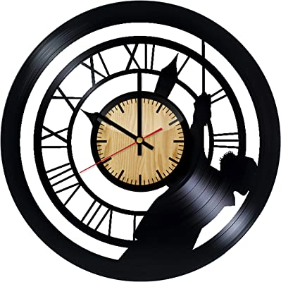 Amazon Com Firstime Gear Works Wall Clock Home Amp Kitchen