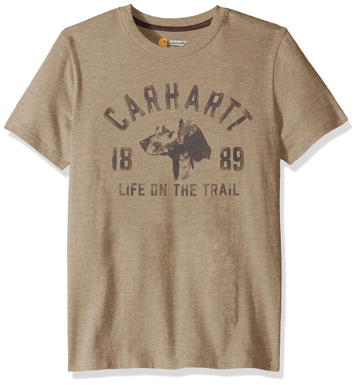 Carhartt Boys Short Sleeve Cotton Graphic Tee T-Shirt