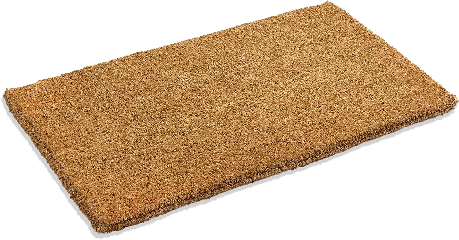 "Kempf Natural Coco Coir Doormat, 24-Inch by 48-Inch, 1"" Thick Low"