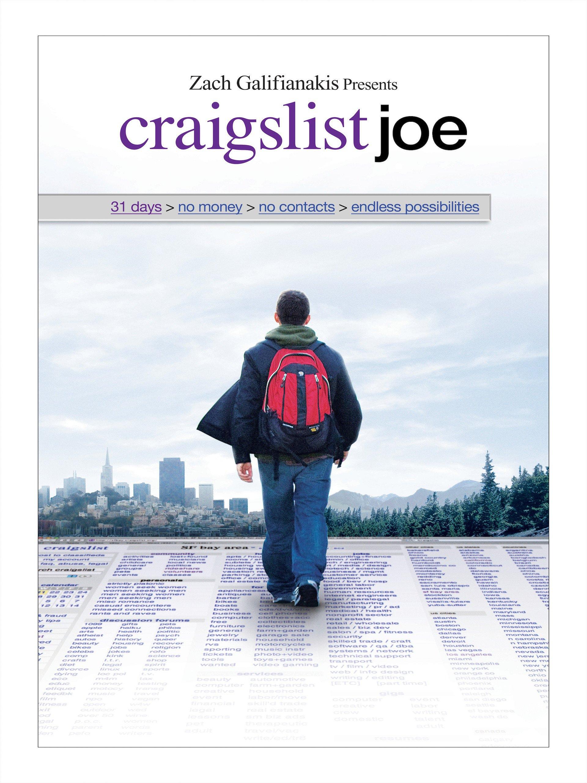 Amazon.com: Craigslist Joe: Joseph Garner, Kristos Andrews, Zach  Galifinakis, Uday Sehgal: Amazon Digital Services LLC