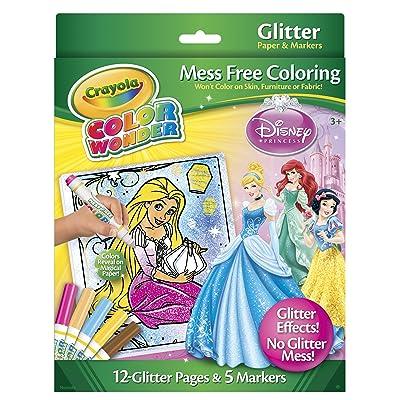 Disney Princess Glitter Paper & Markers