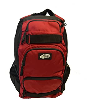 Vans Men s Backpack Skate Bag Treflip Burgundy Black School Bag ... 90dd18681ef64