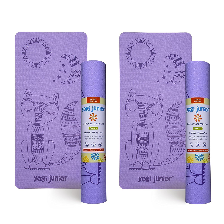Yogi Junior - Esterilla de Yoga para niños, Libre de PVC ...