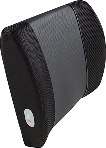 Relaxzen 3D Mesh and PU Massage Lumbar Support Cushion