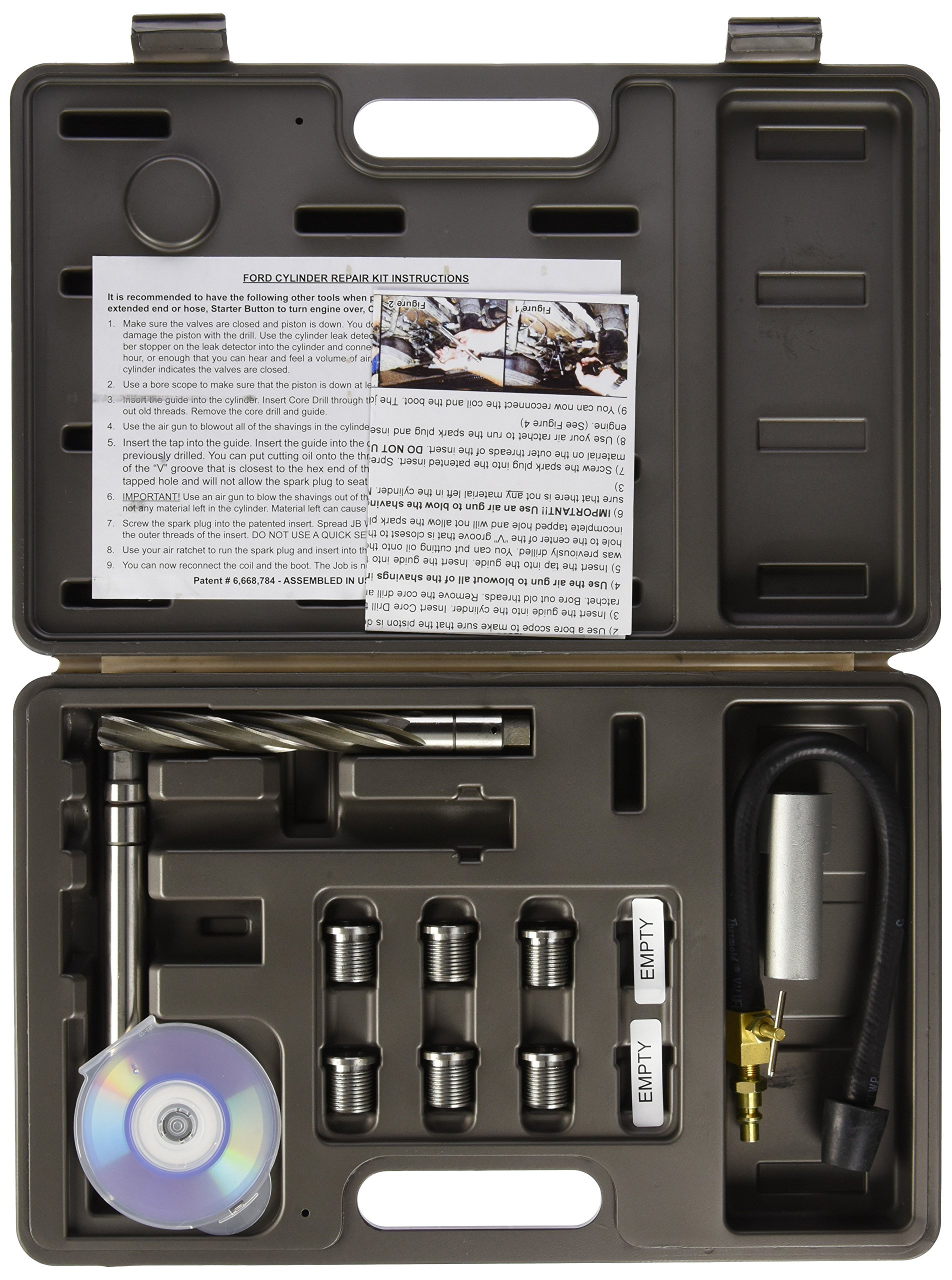 Mountain MTN9200 Spark Plug Insert Installer Set (Ford) by Mountain (Image #2)