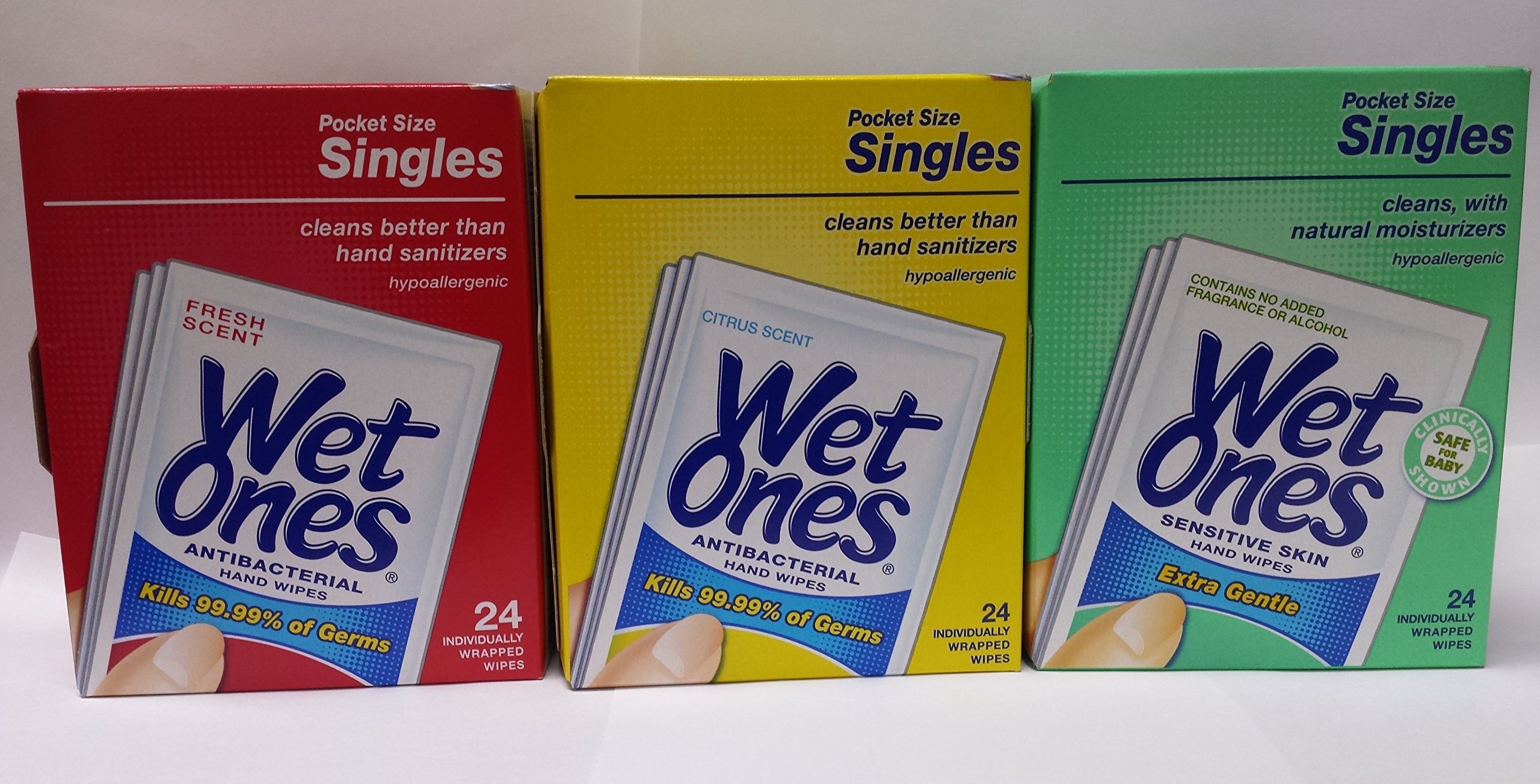 Wet Ones 24 Singles Variety Pack by Wet Ones