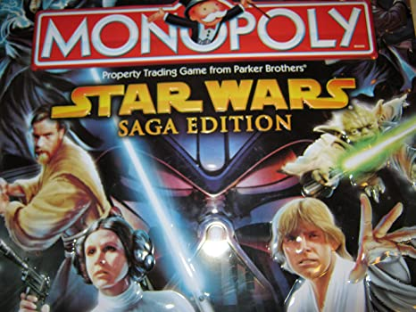 Star Wars Saga Edition Monopoly Limited Edition Tin by Parker Brothers by Parker Brothers: Amazon.es: Juguetes y juegos