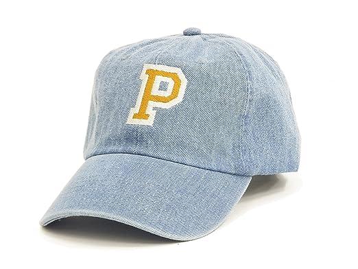 002e6b348 Pherrow's Men's Logo Embroidered Cap Cotton Hat Low Profile Baseball ...