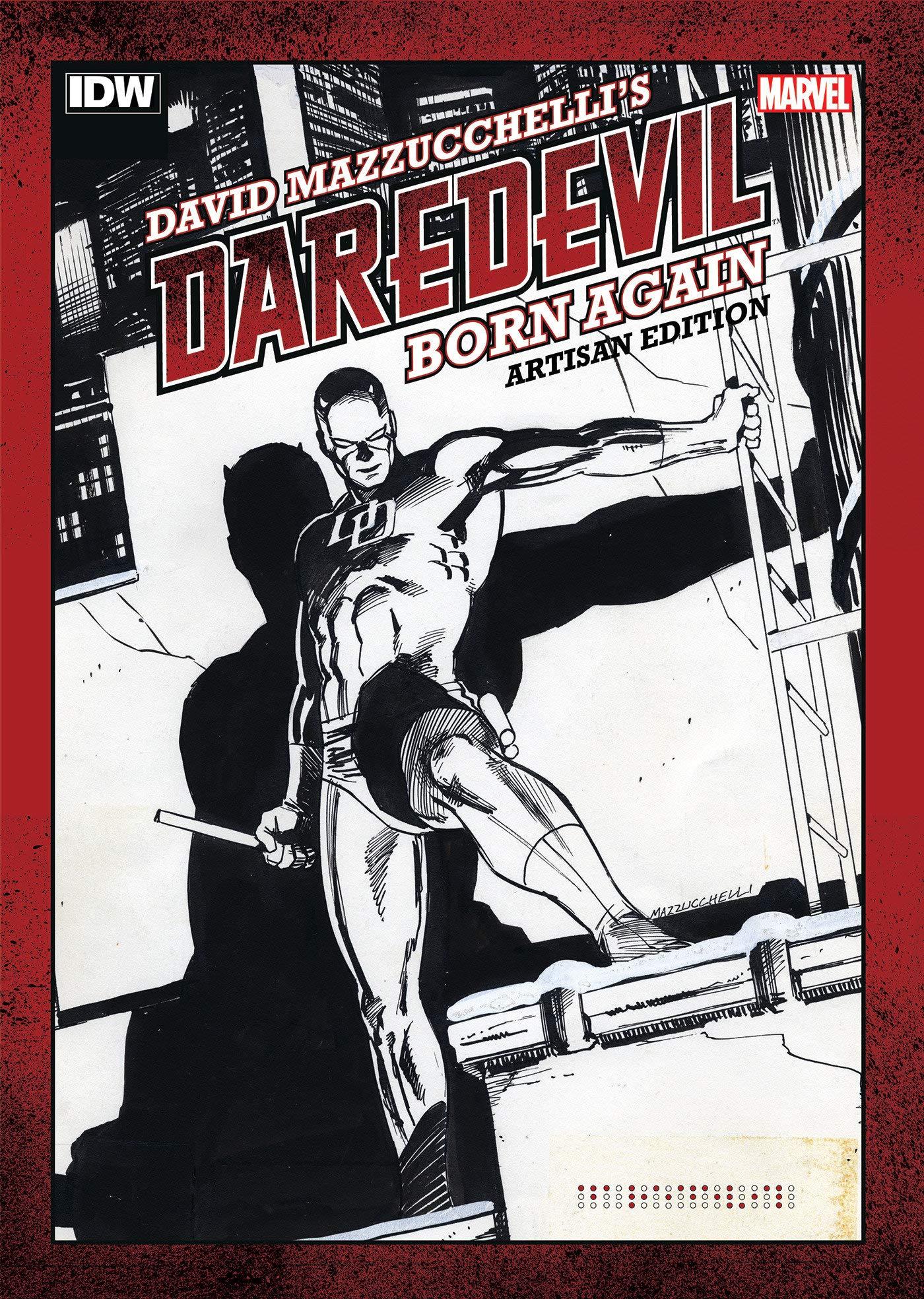 David Mazzucchelli's Daredevil Born Again Artisan Edition by IDW Publishing