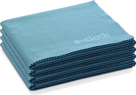 E-cloth Lot de 4 Chiffons 4 Couleurs Multi Usages