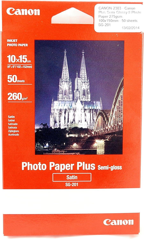 10/x 15 50sheets Photo Paper Plus SG-201