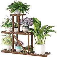 Cfmour Wood Plant Stand Indoor Outdoor Deals