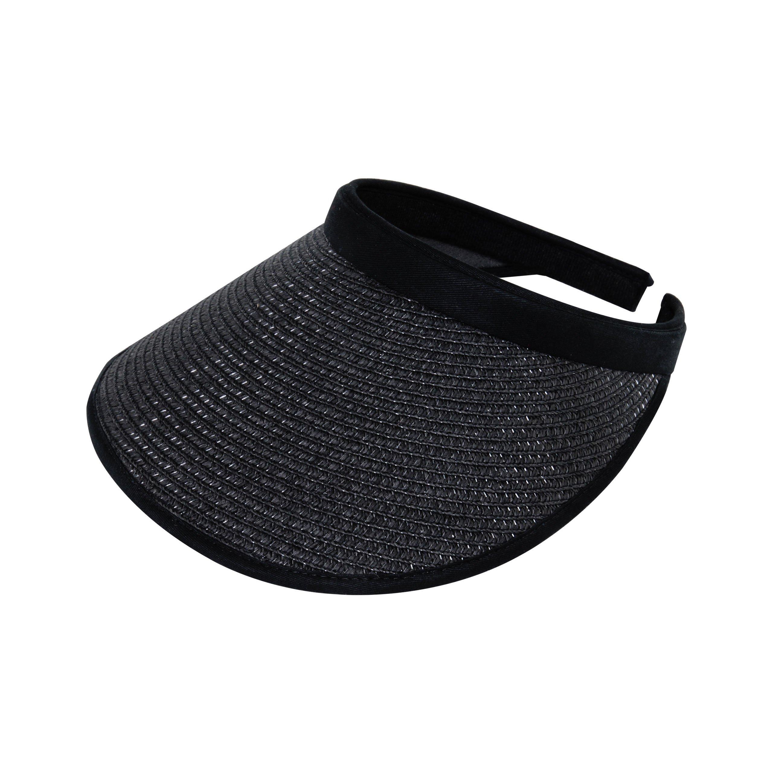 Women's Toyo Braid Clip-On Visor-4128