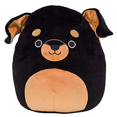 Squishmallow Mateo The Rottweiler 8 Inch Plush Toy: Toys & Games