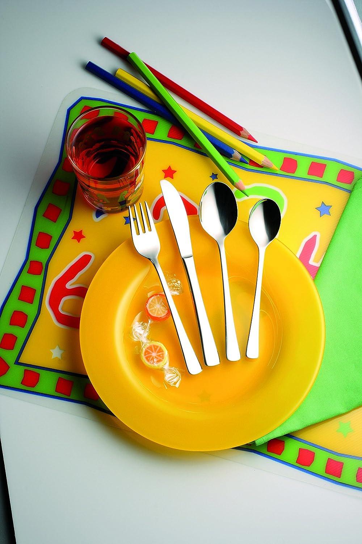 Solex Kinderbesteck-Set 4-tlg Karina Kids Kinderl/öffel Kindergabel Kindermesser NEU OVP