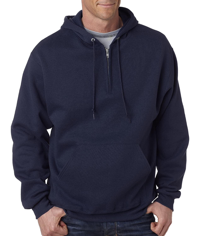 shades of 2019 original picked up Jerzees 8 oz., 50/50 NuBlend Fleece Quarter-Zip Pullover Hooded Sweatshirt