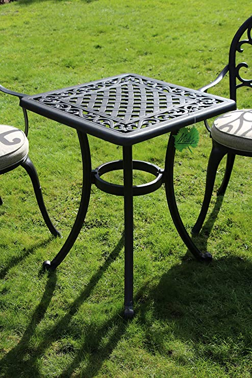 Made for us Table de Jardin en Fonte d\'aluminium avec ...