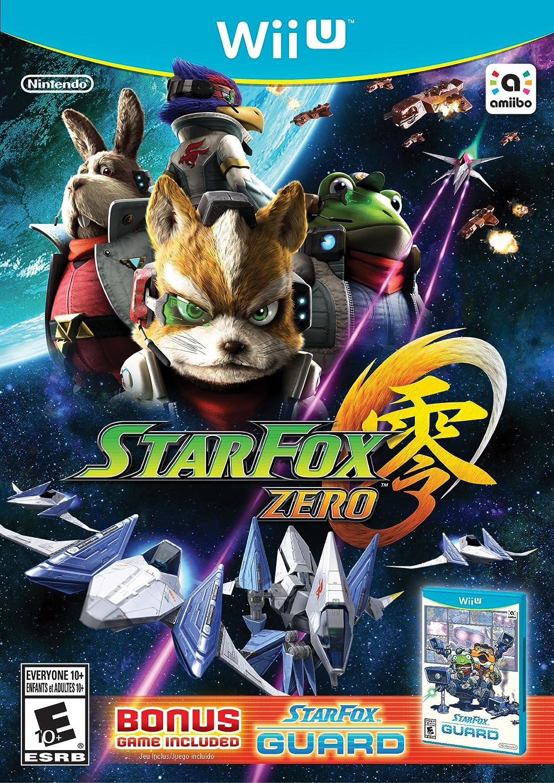 Amazon com: Star Fox Zero + Star Fox Guard - Nintendo Wii U